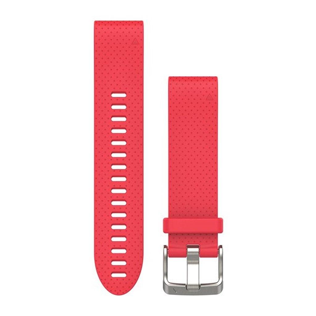 Acc,fenix 5s 20mm QuickFit Azalea Pink Silicone Band