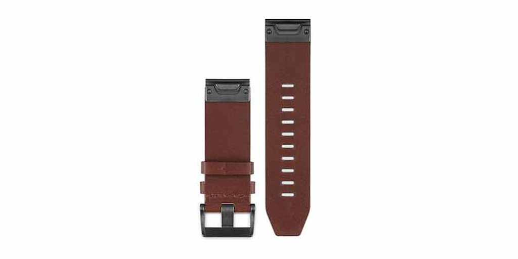 Acc,fenix 5 22mm QuickFit Brown Leather Band
