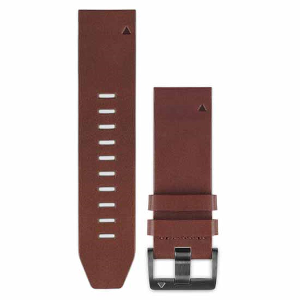 Acc,fenix 5x 26mm QuickFit Brown Leather Band