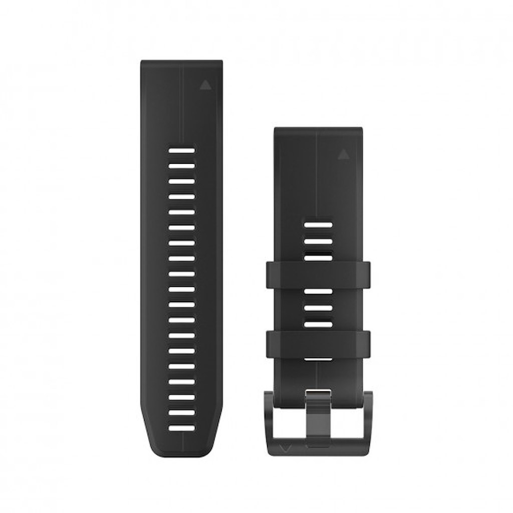 Acc,fenix 5X Plus 26mm QuickFit Black Silicone Band
