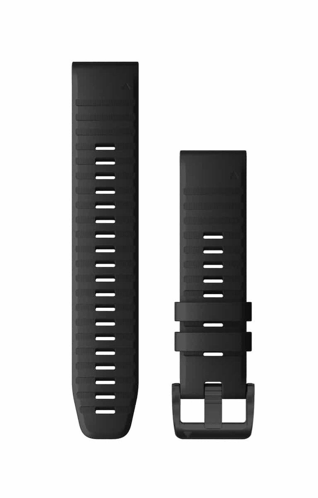 Acc,fenix 6 22mm QuickFit Black Silicone Band