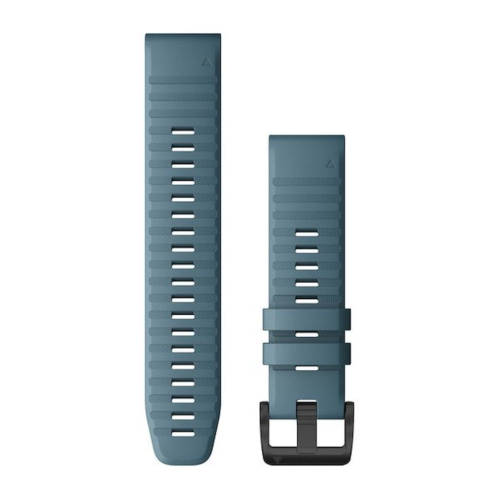 Acc,fenix 6 22mm QuickFit Lakeside Blue Silicone Band