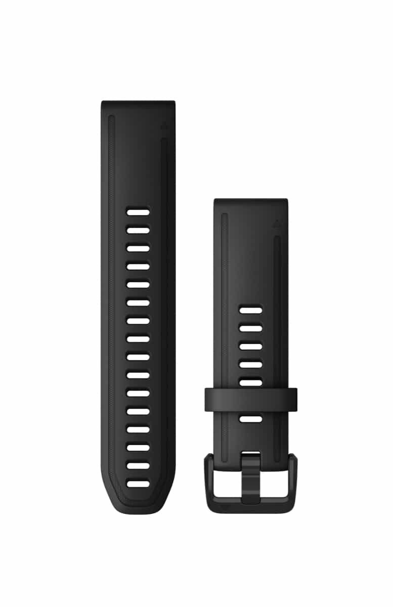 Acc,fenix 6s 20mm QuickFit Black Silicone Band
